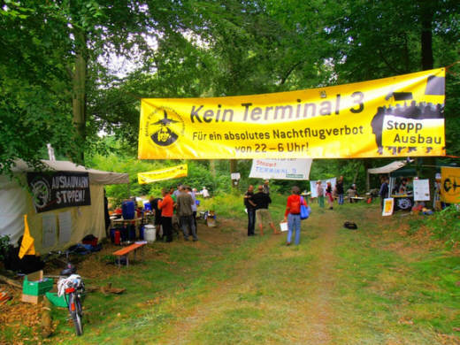 Aktions-Camp im Treburer Wald, 20.06.2014