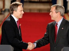 Blair and Bush - Foto: U.S. federal  government - public domain