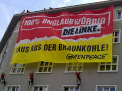 Greenpeace-Protest am  26.05.14 - Foto: Greenpeace