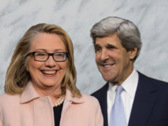Hillary Clinton and Kerry - Collage: Samy