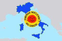 Italia - Energia nucleare? No Gracie