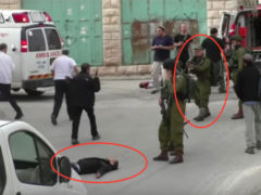Mord an Palästinenser - Screenshot: Video von Emad abu-Shamsiyah / B'Tselem