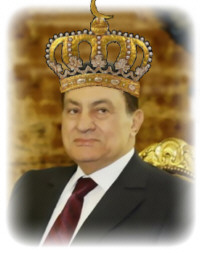 King Mubarak of Egypt