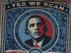 Obama: Yes We scan
