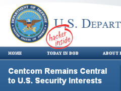 Pentagon hacked - Grafik: Samy