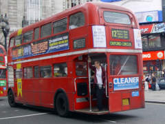 Doppeldecker-Bus in London