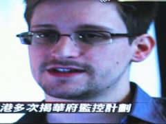 Der Whistleblower Edward Snowden