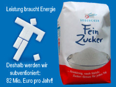 Agrar-Subvention für Südzucker