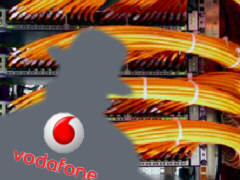 Vodafone and NSA - Collage: Samy