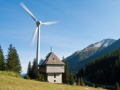 Windnenergie in Bayern - Foto: Michael Brezocnik - Creative-Commons-Lizenz CC BY-SA 3.0 DE